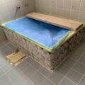 お風呂のタイルリノベ